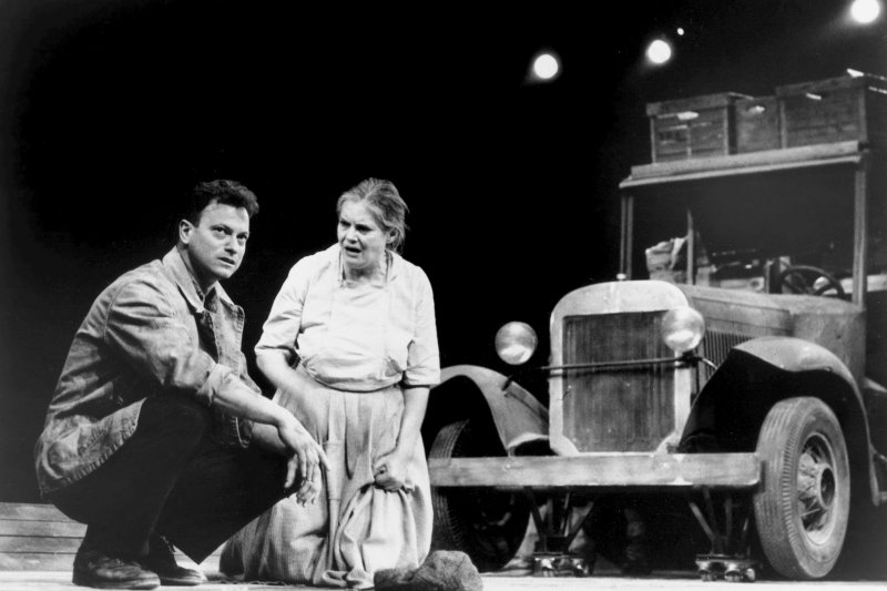 Gary Sinise in The Grapes of Wrath on Broadway Photofest