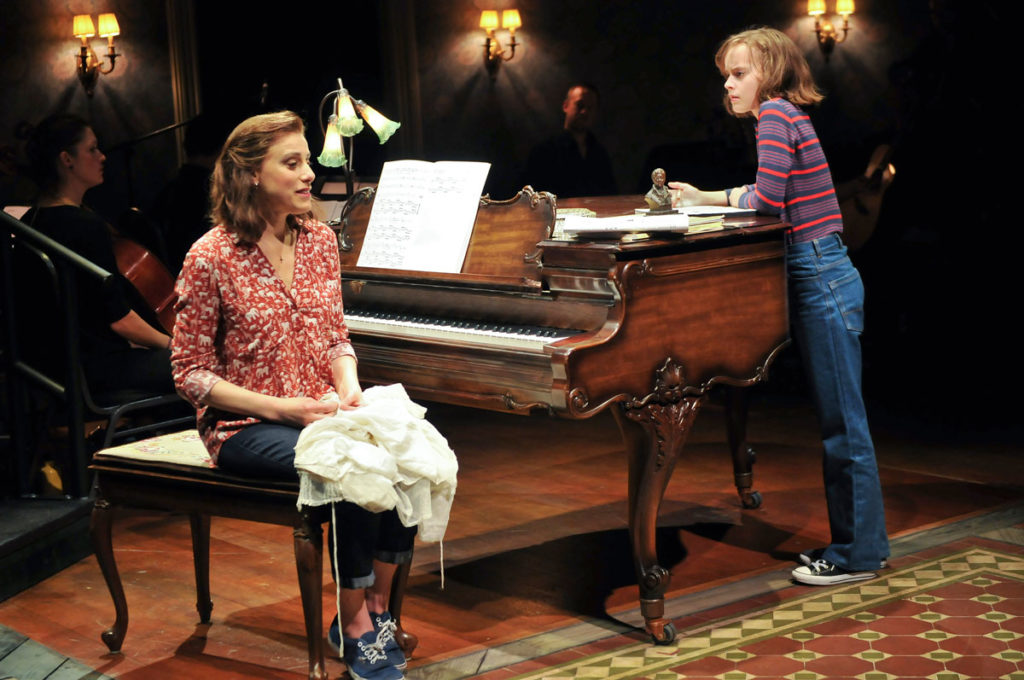Judy Kuhn as Helen in the Broadway production of Fun Home. Photo Credit: Joan Marcus.