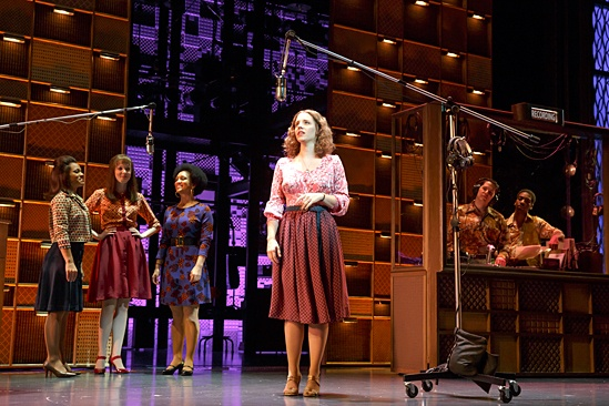 Jessie Mueller in Beautiful on Broadway by Joan Marcus