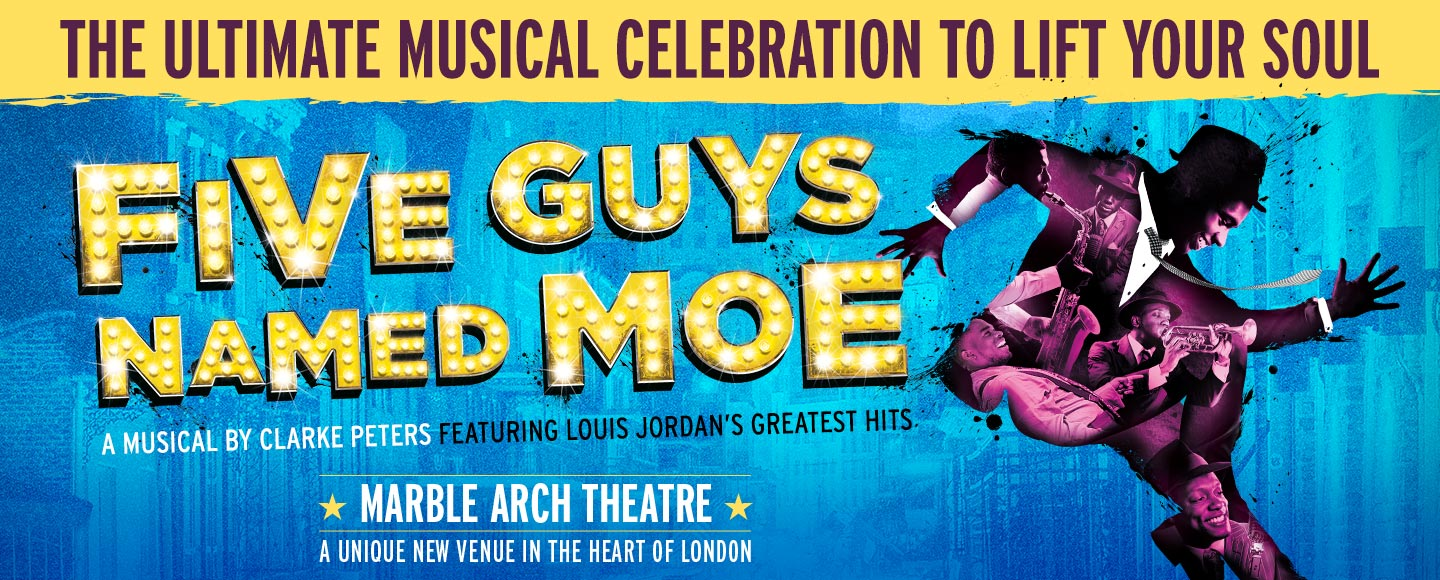 five-guys-named-moe-musical-TodayTix-London-Theatre-Spring-Ticket-Event