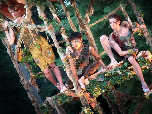 Connecticut Free Shakespeare's 2015 production of A Midsummer Night's Dream
