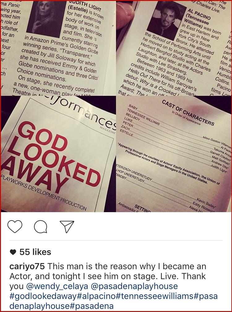 god looked away