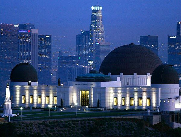 Griffith Observatory Wally Skalij - Los Angeles Times