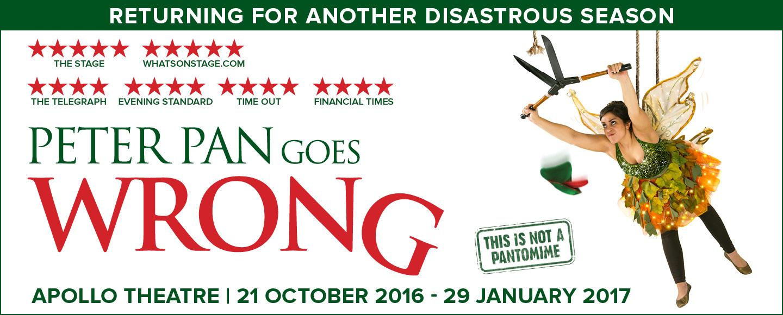 Photo Credit: Peter Pan Goes Wrong