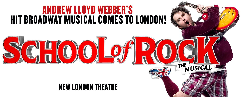 school-of-rock-musical-TodayTix-London-Theatre-Spring-Ticket-Event