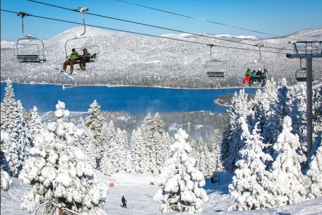 big bear skiing LA