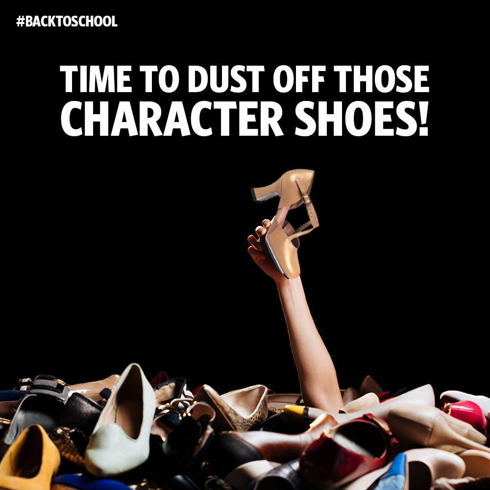 Time to dust of those character shoes
