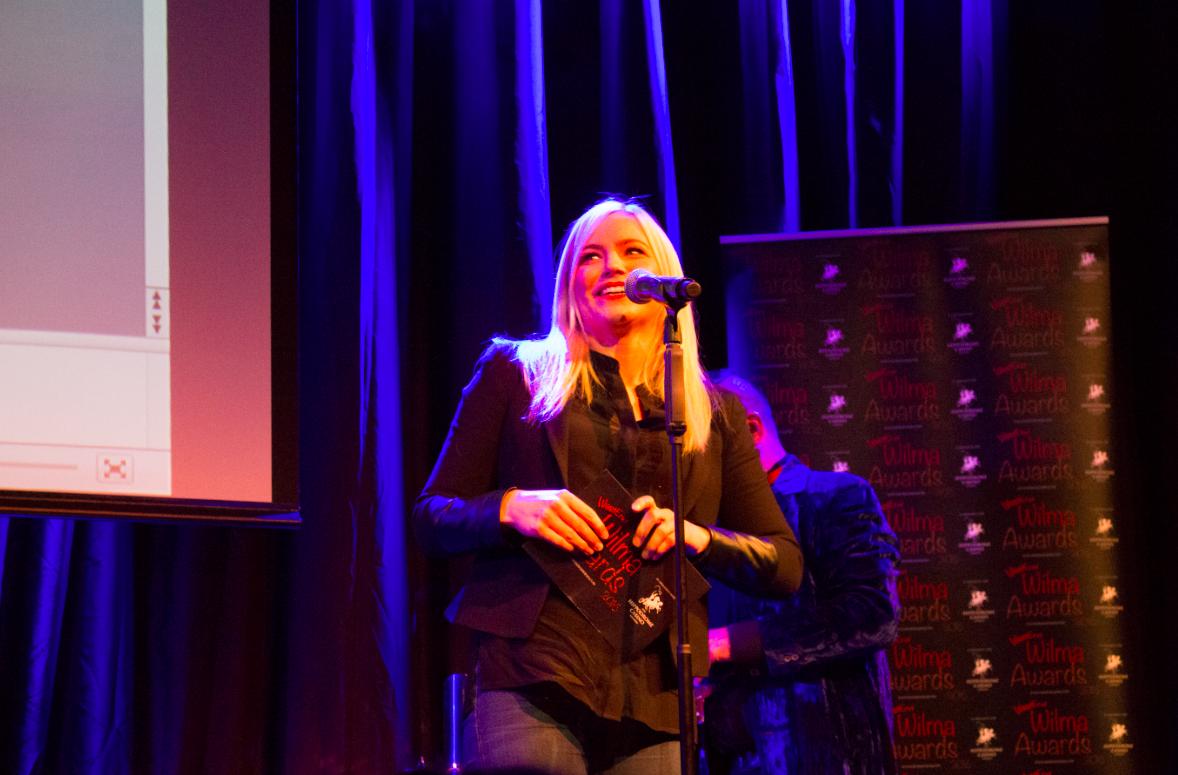 Wicked star Suzie Mathers presents.