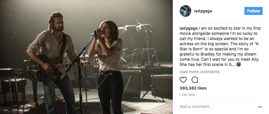 Photo Credit: Lady Gaga's Instagram