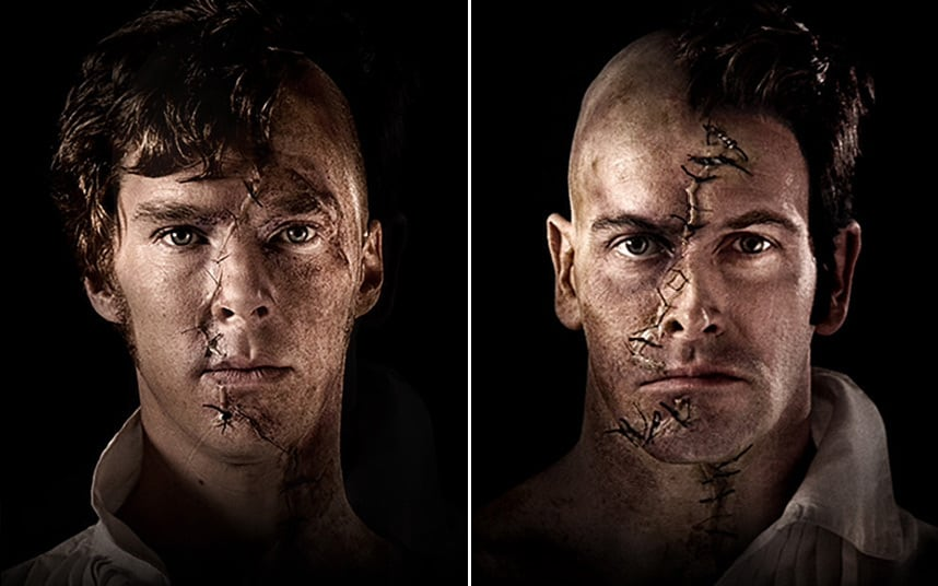 benedict-cumberbatch-jonny-lee-miller-frankenstein-national-theatre-london-todaytix
