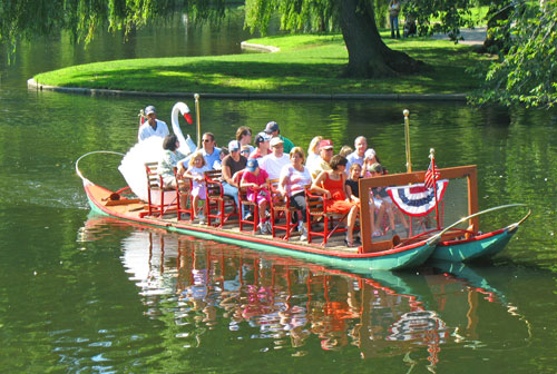 Photo Credit: Swan Boats