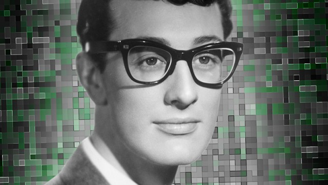 6c3437d107 Buddy Holly made black-rimmed squareish glasses cool. His signature style  is still popular among hipsters today. If you venture to the Buddy Holly  Center in ...