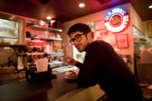 Darren at restaurant