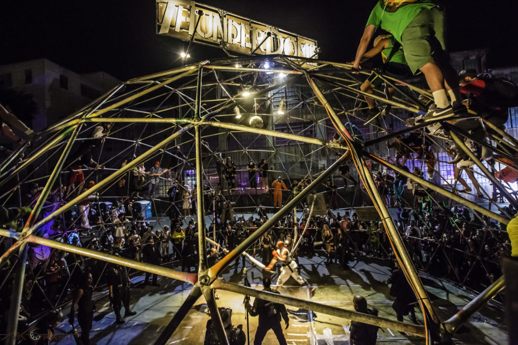 Thunderdome, one of the attractions to be found at this year's Ghost Ship, photo courtesy Ghost Ship Halloween