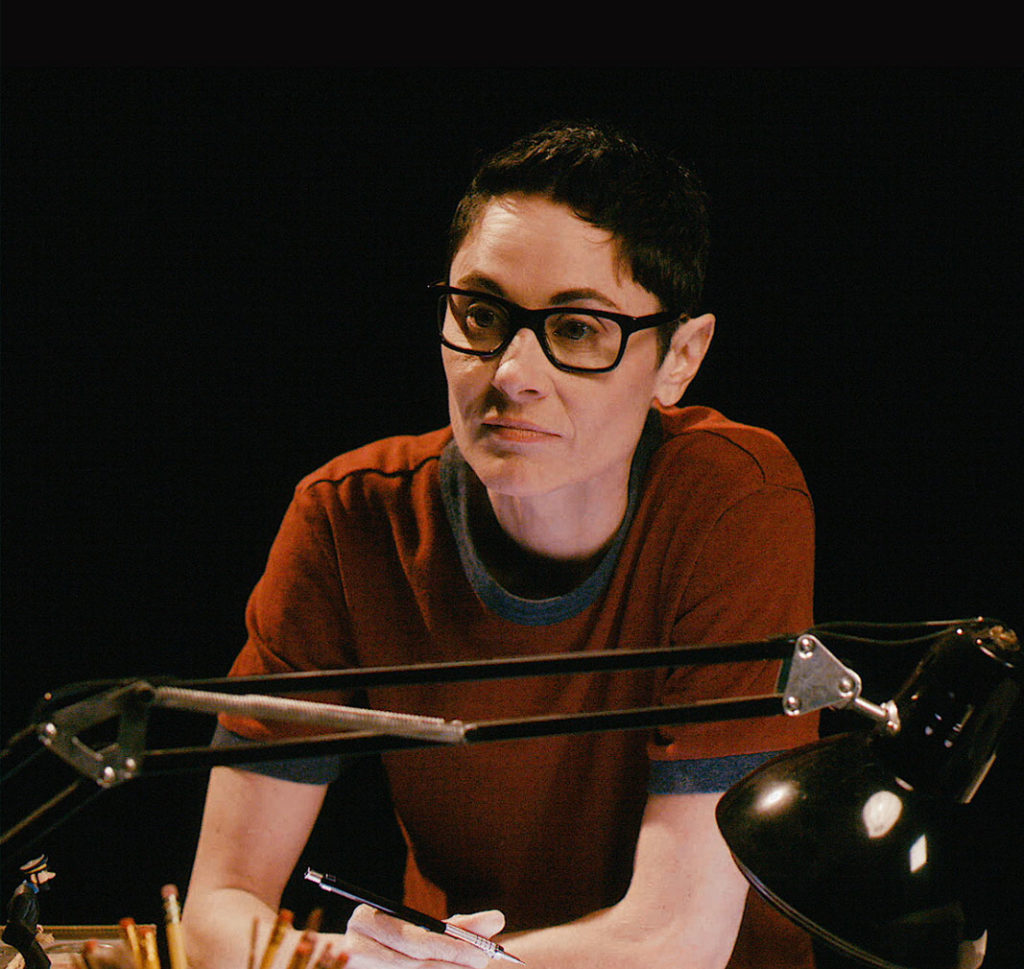 Beth Malone as Alison in Fun Home, Photo Credit: Joan Marcus