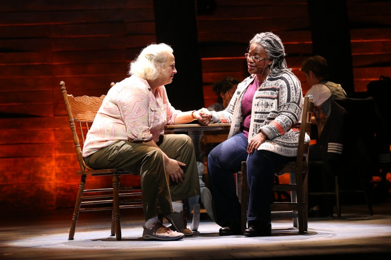Astrid Van Wieren and Q. Smith in Come From Away, Ford's Theatre