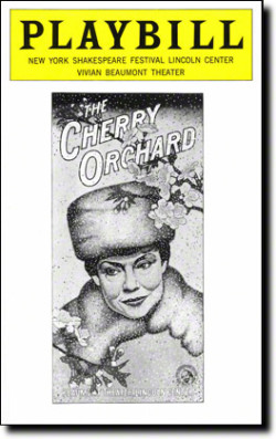Playbill for The Cherry Orchard 1976