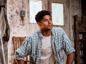 """Photo Credit: Alfred Enoch in """"Red"""", by Johan Persson"""